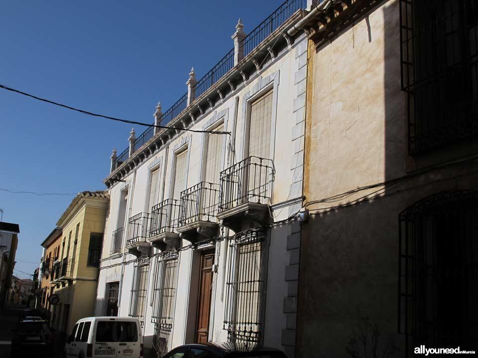 Calle García Alix en Totana