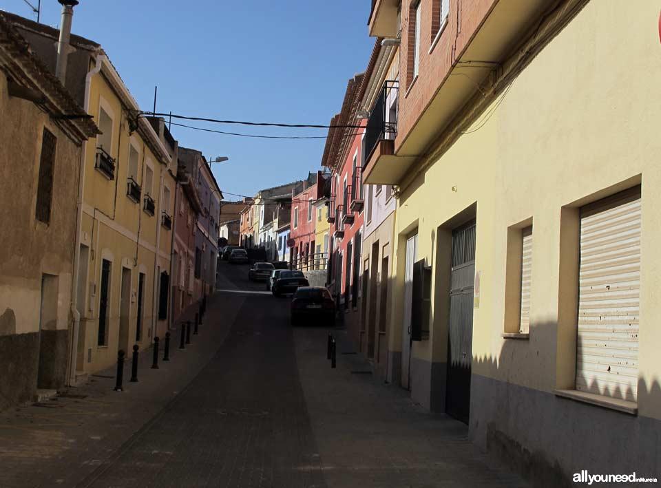 Calle del Castillo en Totana