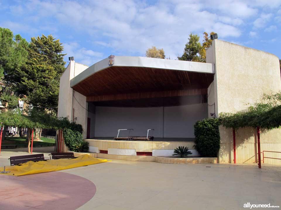 Parque municipal Marcos Ortiz. Auditorio