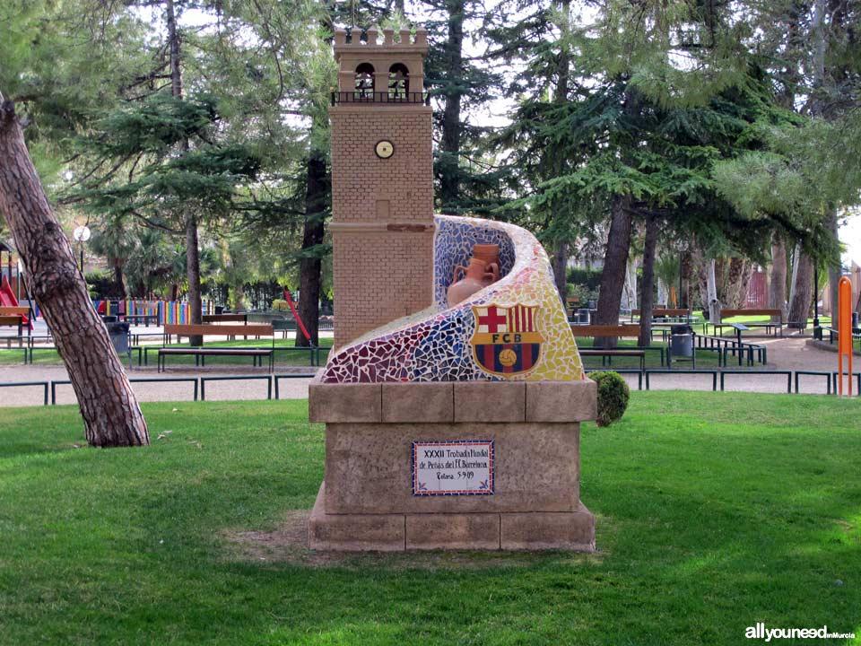 Parque municipal Marcos Ortiz. Trobada F.C. Barcelona