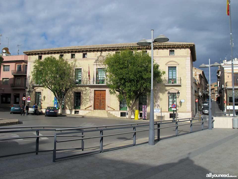 Plaza de la Constitución. Edificio del Ayuntamiento