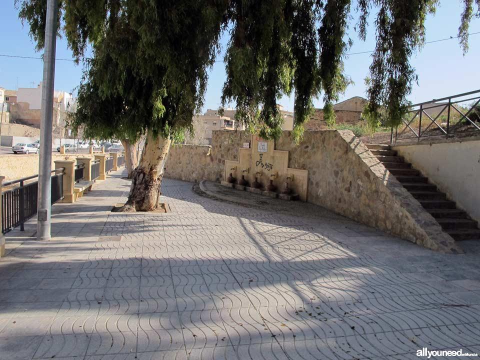 Arco de San Pedro, de las Ollerías, o de La Rambla. Fuente de San Pedro