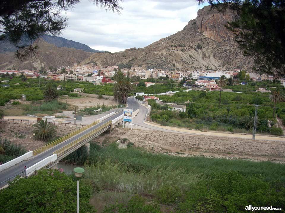 Vista de Ulea desde Villanueva del Segura