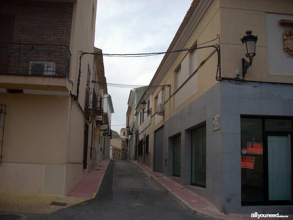 Photo tour of the most typical streets in Villanueva del Río Segura