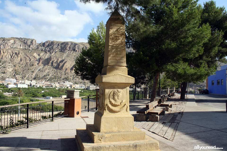 Monumento a Doña Isabel Baltasara