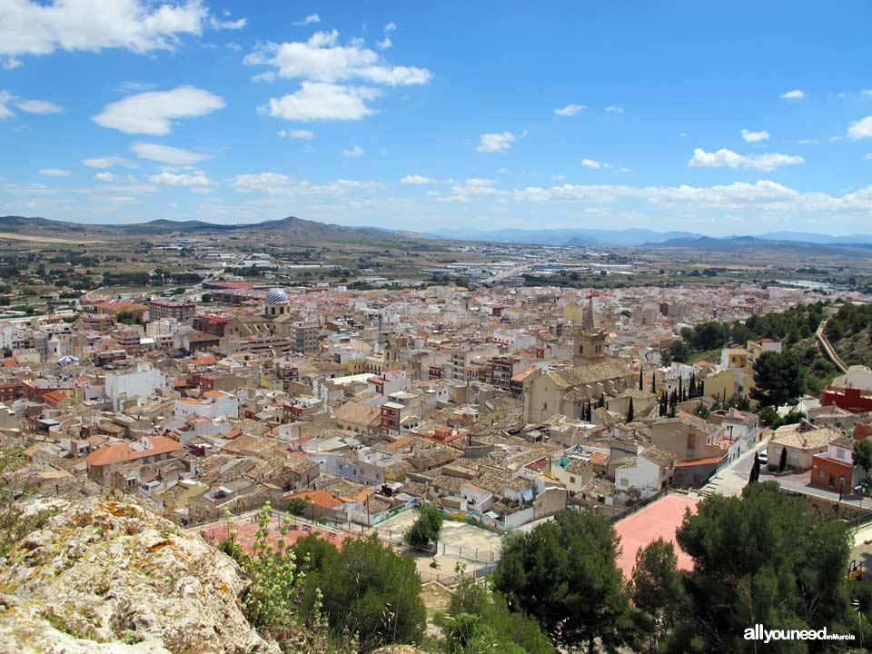 Panoramic view of  Yecla