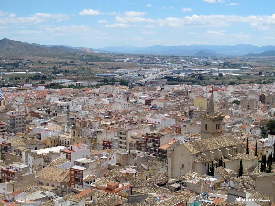 Yecla y Parroquia de la Asunción