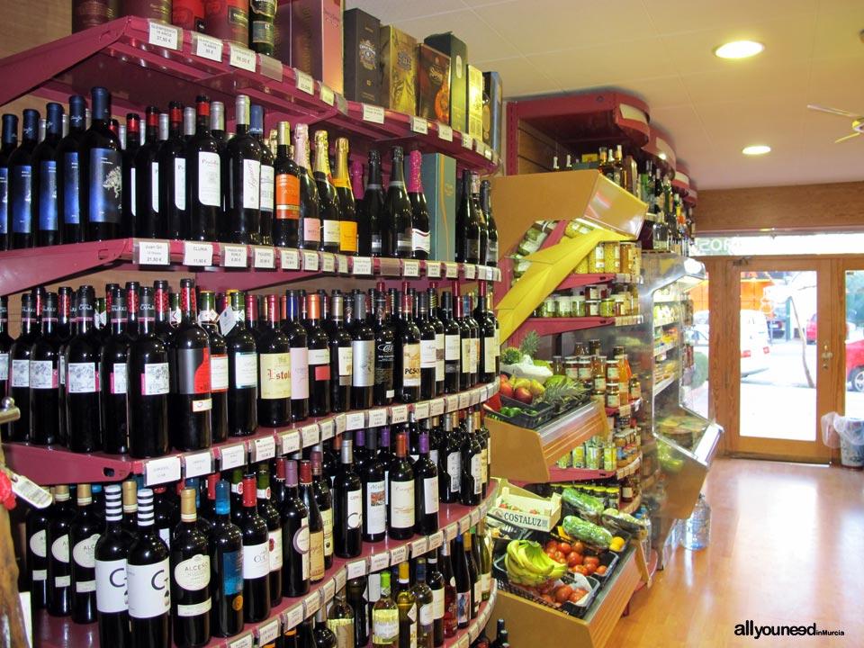 El Cuentavinos Murcia. Alimentación y restauración. Vinos