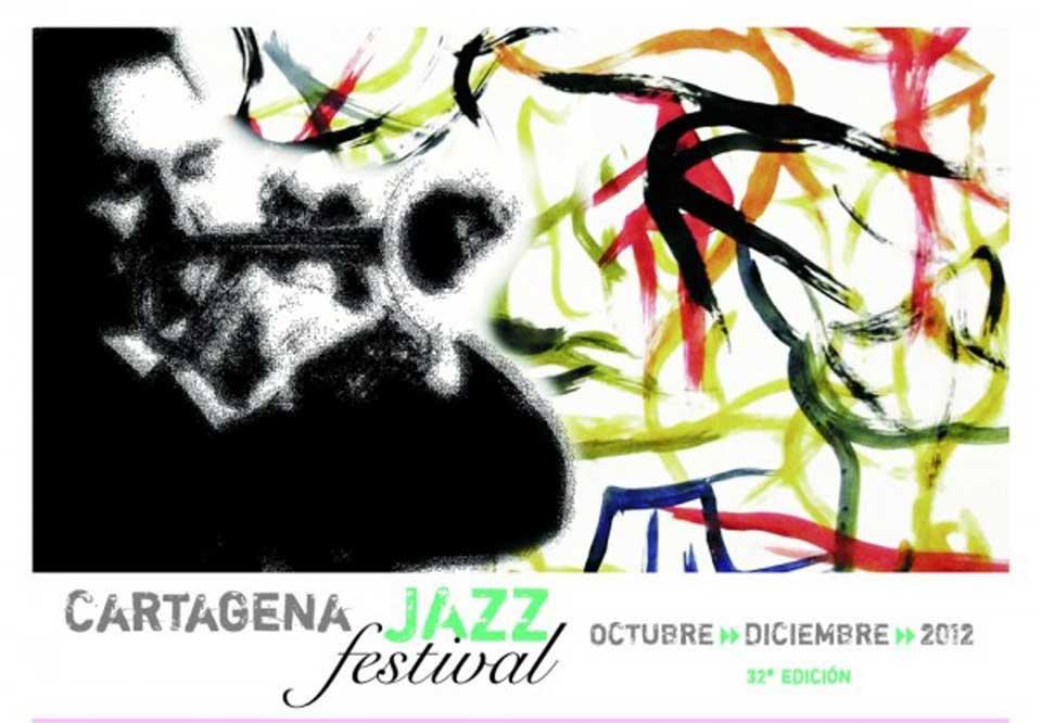 Cartel Festival de Jazz de Cartagena
