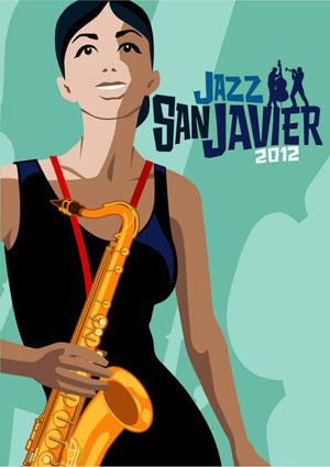 Cartel oficial del Festival de Jazz de San Javier