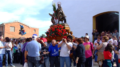 Fiestas populares en Blanca